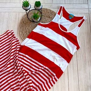C&C California maxi dress beach cover up size L